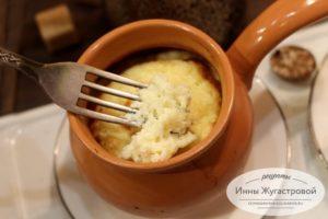 Воздушное сырное суфле