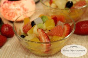 Фруктовый десерт Амиго без заправки