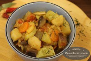 Овощной соус в мультиварке Редмонд
