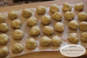 Заготовки пончиков