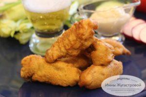 Рыба в кляре по простому рецепту