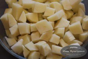 Подготовить картофель