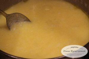 Суп из поленты