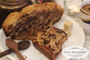 Сдобный дрожжевой хлеб (бриошь) в хлебопечке