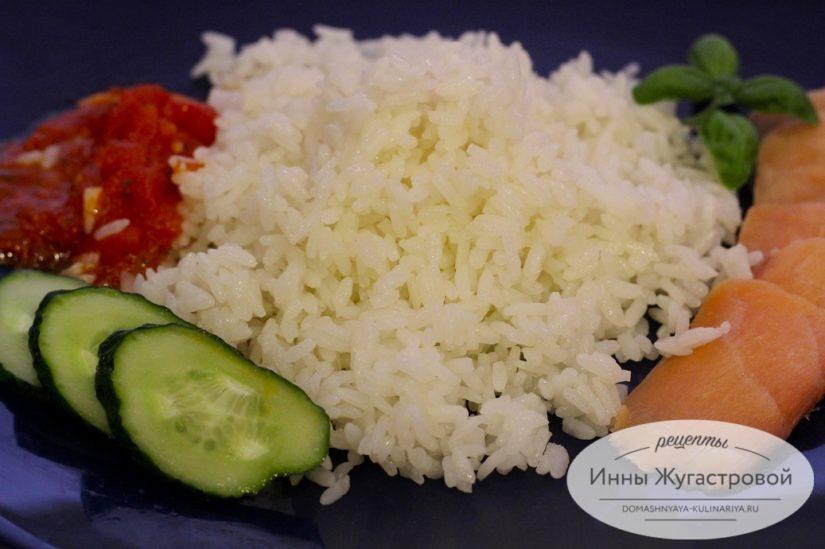 Рассыпчатый круглый рис в мультиварке для гарнира, начинки, салатов