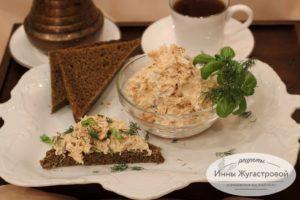 Риет из семги и творожного сыра