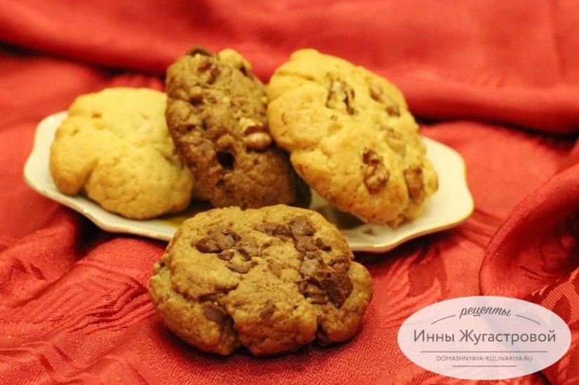 Американское печенье по мотивам знаменитых Сookies с шоколадной крошкой