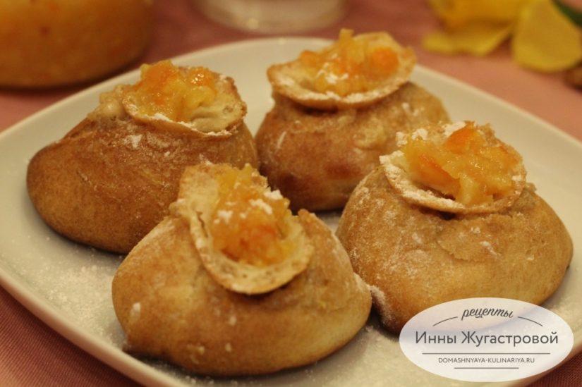 Апельсиново-банановый крем (десерт и начинка для профитролей)
