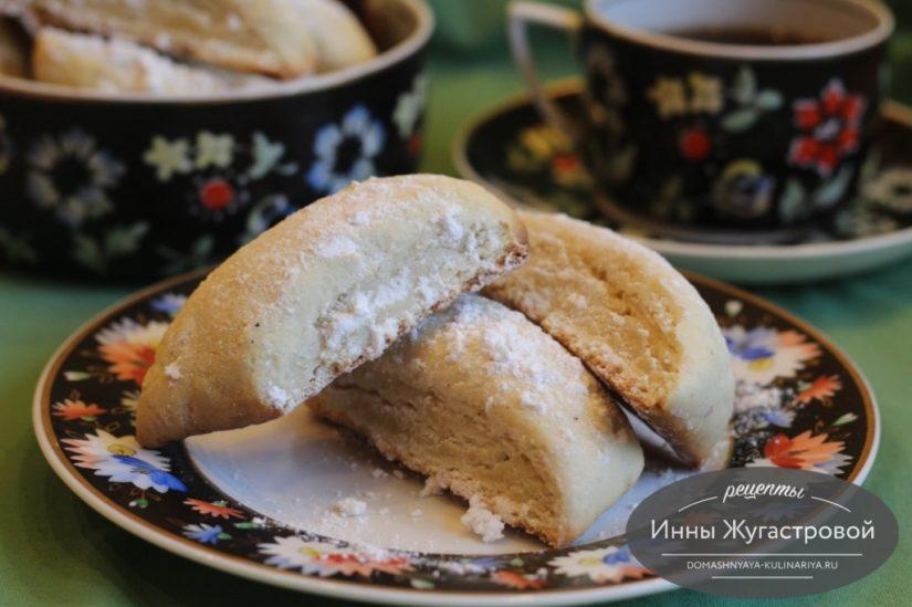 Шакар лохум, рассыпчатое армянское печенье на молоке без яиц