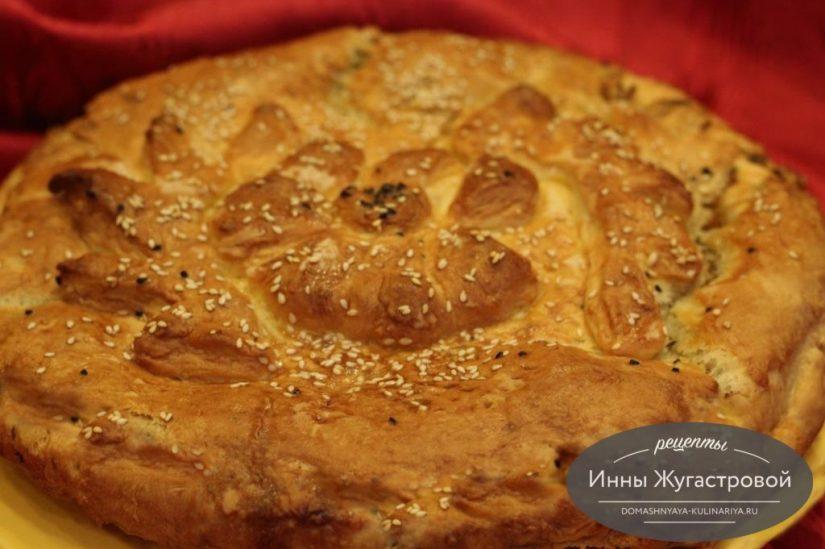 Капустник, знаменитый пирог с капустой