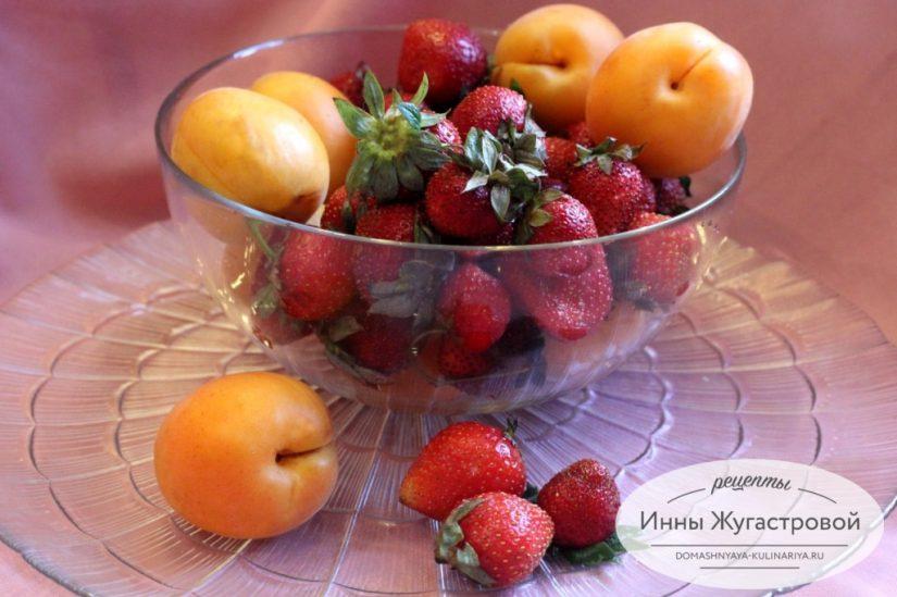 Клубника и абрикосы. Рецепты использования в сладкой выпечке и десертах