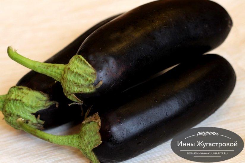 Баклажаны. Рецепты вкусных домашних блюд