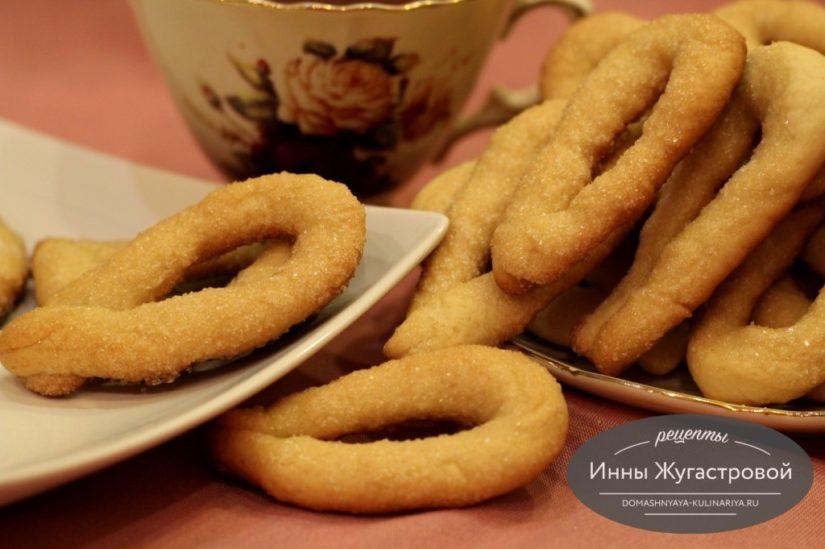 Итальянское печенье торчетти на дрожжах