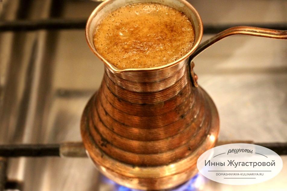 Кофе по-еревански с двойной пенкой