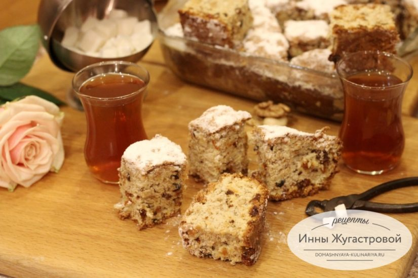Пирог Мазурка, рецепт из детства