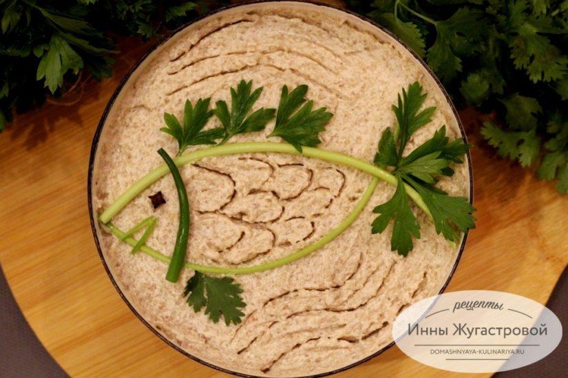 Форшмак, знаменитое блюдо из селедки еврейской кухни, по-одесски