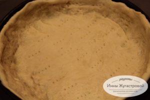 Пирог бисквитный с курагой - рецепт пошаговый с фото