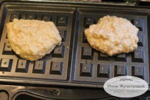 Шоколадные вафли с корицей в мультипекаре - рецепт пошаговый с фото
