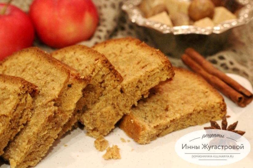 Американский яблочный хлеб Apple Bread в духовке и в хлебопечке