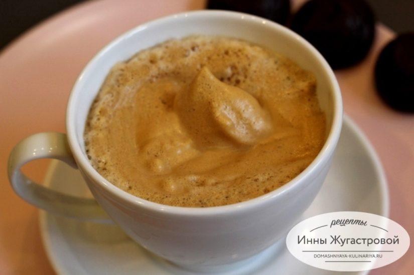 Кофейный крем из растворимого кофе для домашнего капучино