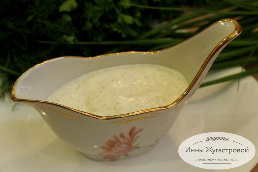 Универсальный белый соус