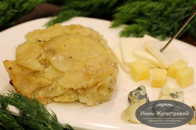 Картофель буланжер в хлебопечке, простое блюдо с французским акцентом