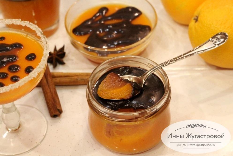 Тыквенно-апельсиновое желе