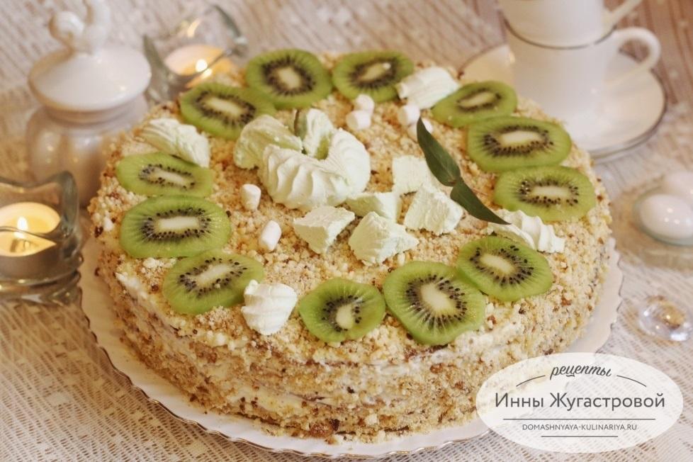 Торт на сгущенке Milchmadchen