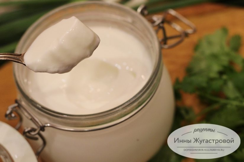 Домашний йогурт на закваске в мультиварке Редмонд